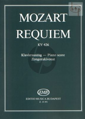 Requiem KV 626 (Soli-Choir-Orch.)