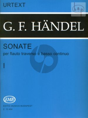 Sonatas Vol.1 (Flute-Bc)