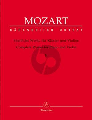 Mozart Sämtliche Werke Vol.2 Violine-Klavier (E.Reeser) (Urtext der Neue Mozart Ausgabe)