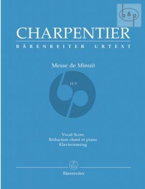 Messe de Minuit H.9 (sur des Airs de Noel (Soli-SATB-Orch.) (Vocal Score)