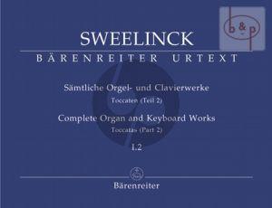 Samtliche Orgel- & Clavierwerke Vol.1 Teil 2 (Toccaten Vol.2)
