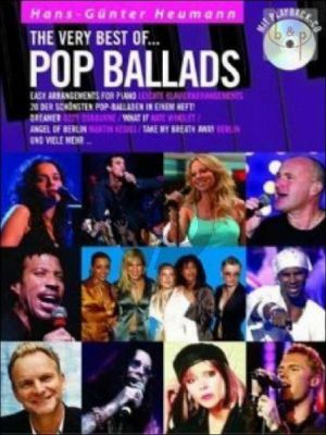 The Very Best of Pop Ballads (Bk-Cd)
