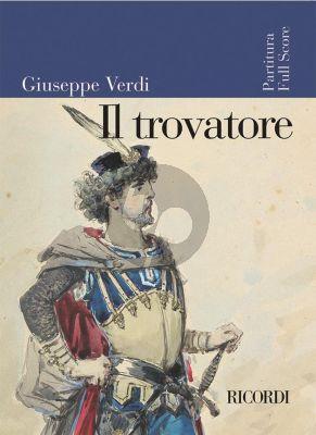 Verdi Il Trovatore (Full Score) (Ricordi)
