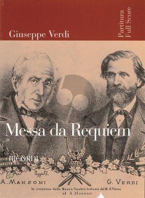 Verdi  Messa di Requiem (Full Score)