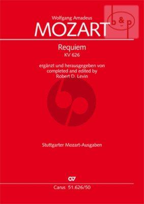 Requiem d-minor KV 626 (Soli-Choir-Orch.)