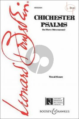 Chichester Psalms (Boy Solo-Mixed [or Male] Choir- Orchestra)