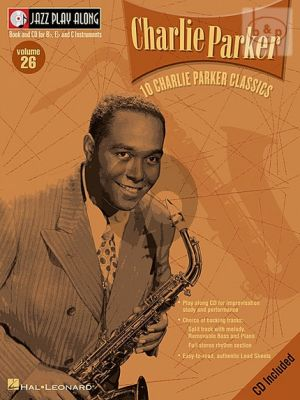 10 Charlie Parker Classics (Jazz Play-Along Series Vol.26)