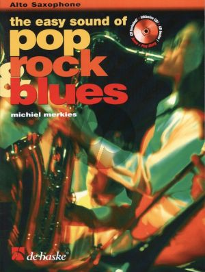 Merkies Easy Sound of Pop Rock & Blues for Alto Saxophone (Bk-Cd)