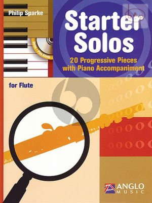 Starter Solos (20 Progressive Pieces) (Flute with Piano Accomp.)