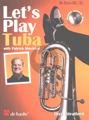 Stratford Let's Play Tuba Bb Bas Book with Cd Tuba wit Treble Clef or Bass Clef