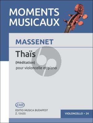 Massenet Meditation from Thais Violoncello-Piano (transcr. Arpad Pejtsik)