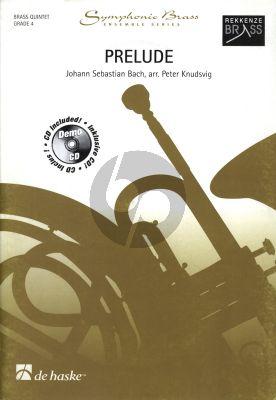 Bach Prelude a-minor BWV 596 Brass Quintet (Bk-Cd) (arr. Peter Knudsvig)