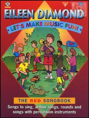 Let's Make Music Fun! Red Songbook (Songs tro Sing-Action Songs-Rounds and Songs with Percussion Instr.)