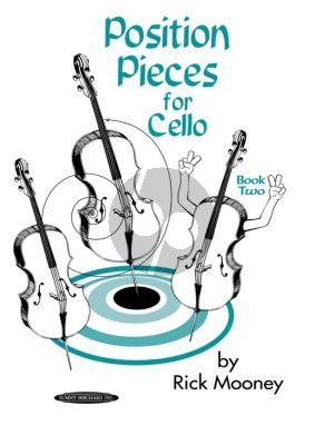 Mooney Position Pieces Vol. 2 for Cello (Pos.5 - 6 - 7 & Various Pos.)