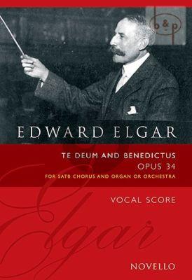 Elgar Te Deum and Benedictus Op.34 (SATB-Organ)