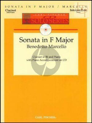 Sonata F-major (Clarinet-Piano) (Bk-Cd)