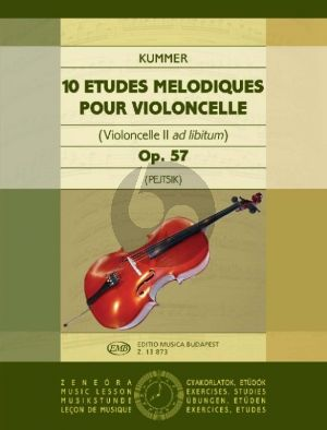 Kummer 10 Studies Op.57 (2nd Cello ad Lib.)