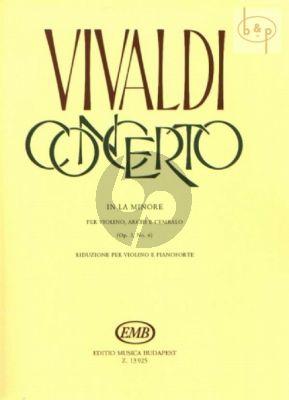 Concerto A-minor Op.3 No.6 (RV 356)