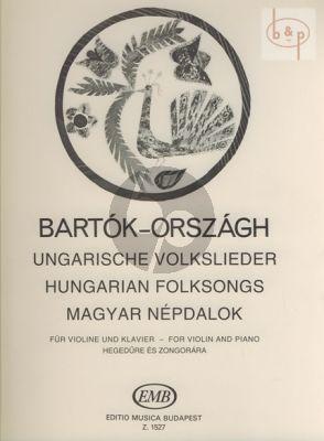 Hungarian Folksongs
