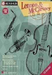 Lennon and McCartney (Jazz Play-Along Series Vol.29)