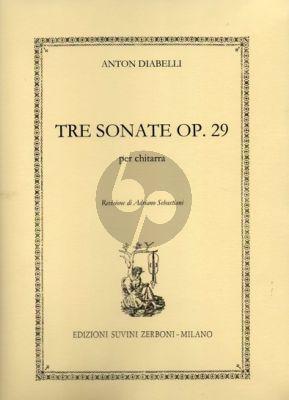 3 Sonatas Op.29 Guitar