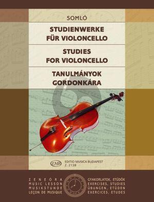 Somlo Studies (Kummer-Lee-Dotzauer a.o.) Violoncello