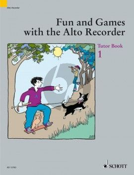 Fun and Games Vol.1 Method for Alto Recorder Tutor