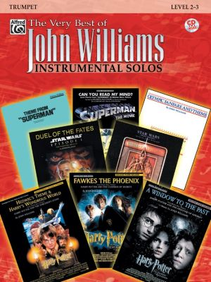 Very Best of John Williams Instrumental Solos for Trumpet (Level 2 - 3) (Bk-Cd)