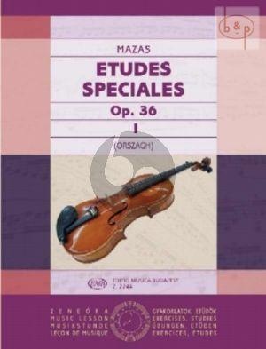 Etudes Speciales Op.36 Vol.1 Violin