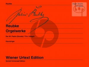 Orgelwerke (Psalm 94 -Trio-Adagio)