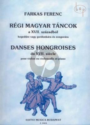 Early Hungarian Dances from the 17th. Century