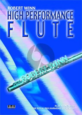 High Performance Flute (with piano accomp.) (Bk-Cd)