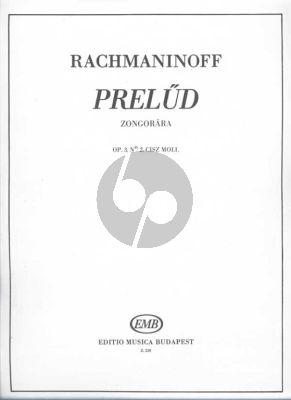 Rachmaninoff Prelude C-sharp minor Op.3 No.2 Piano