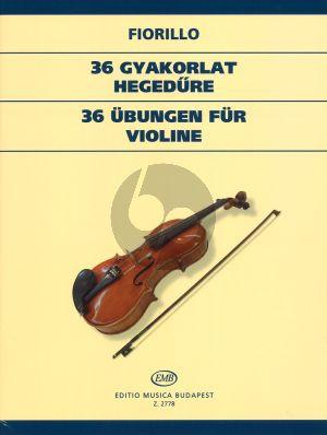 36 Studies Violin