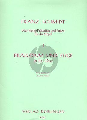 Schmidt Praeludium und Fuge Es-dur (1928) (No.1 aus  4 kleine Präludien und Fugen) (Alois Forer)