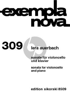 Auerbach Sonate Op.69 Violoncello-Klavier