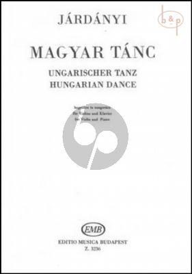 Hungarian Dance Violin-Piano