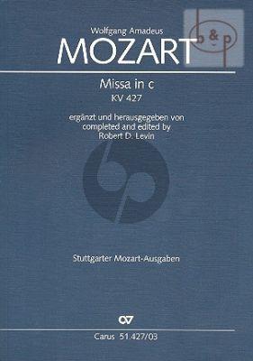 Mass c-minor KV 427 (Soli-Choir-Orch.)