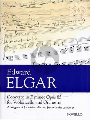 Concerto Op.85 Violoncello-Orchestra (red.)