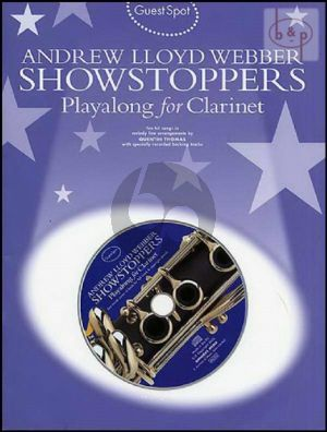 Guest Spot Showstoppers Playalong for Clarinet (Bk-Cd) (interm.)