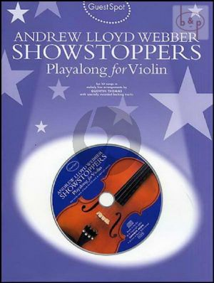 Guest Spot Showstoppers Playalong for Violin