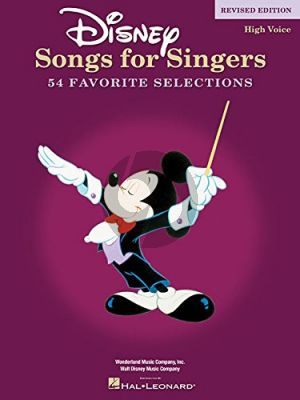 Disney Songs for Singers (54 Songs) (High Voice) (revised)