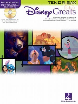 Disney Greats for Tenor/Soprano Sax