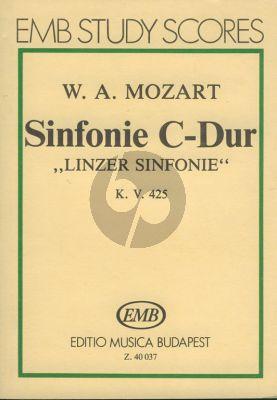 Mozart Symphony C-major KV 425 'Linz' Study Score (edited by Gábor Darvas)