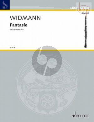 Widmann Fantasie Klarinette solo (1993)