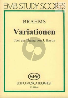 Variations on a Theme of Haydn Op.56a