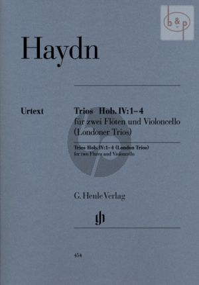 Londoner Trios (Hob. IV: 1 - 4) 2 Flutes and Violoncello