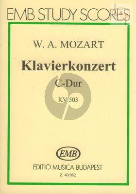 Piano Concerto C-major KV 503 (Piano-Orch.)