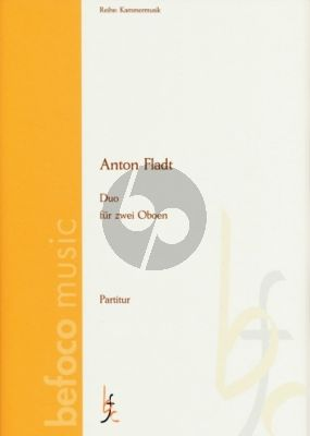 Fladt Duo 2 Oboes (Playing Score)