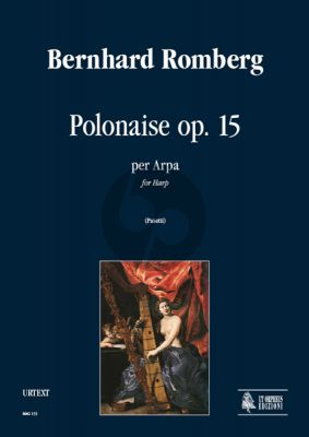 Romberg Polonaise Op.15 for Harp (edited by Anna Pasetti)